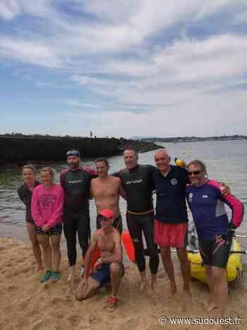 Saint-Jean-de-Luz : les nageurs traversent la côte de port en port - Sud Ouest