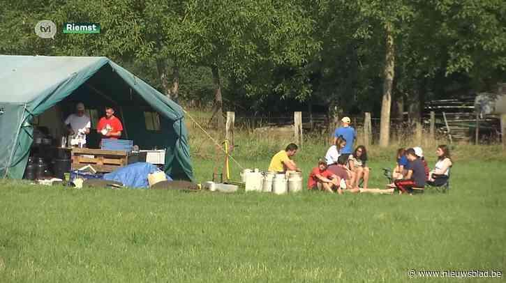 Jeugdbewegingen verhuizen kamp van Ardennen naar Riemst