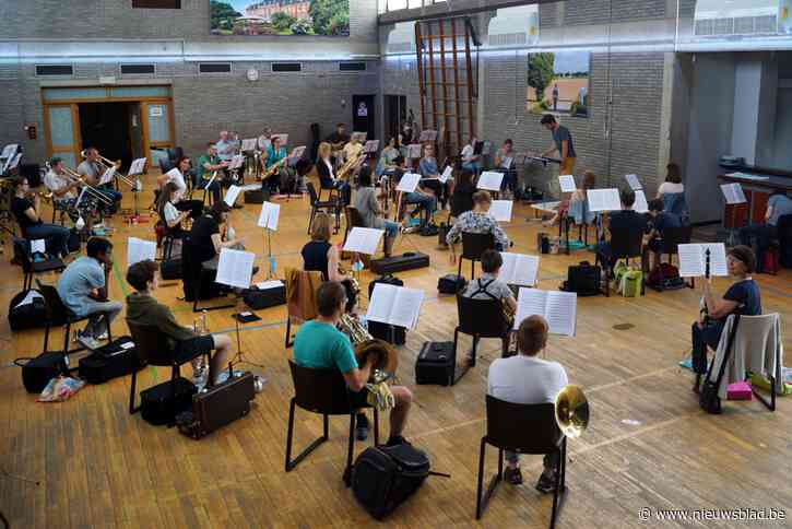 Harmonie Salvia houdt muziekkamp in eigen gemeente
