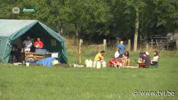 Jeugdbewegingen verhuizen kamp van Ardennen naar Riemst - TV Limburg