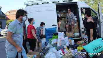 Onnaing: L'Arbre d'or remplit un camion en un clin d'œil pour les sinistrés belges - La Voix du Nord