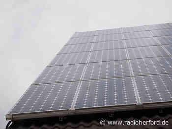 Hiddenhausen gibt Geld zu Solaranlagen dazu - Radio Herford