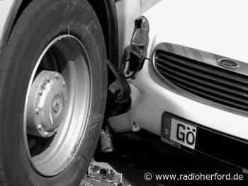 Unfall mit drei Verletzten auf Bünder Straße in Hiddenhausen - Radio Herford