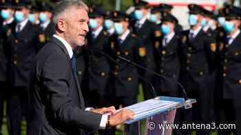 Fernando Grande-Marlaska anuncia la puesta en marcha del Centro Universitario de la Policía Nacional en Ávila - Antena 3 Noticias