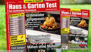 HAUS & GARTEN TEST 4/2021 – Grillen, Mähen, Kühlen - Digitalfernsehen.de