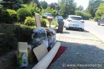 Gratis ophaling van spullen beschadigd door wateroverlast