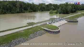 Le polder d'Erstein mis en eau pour limiter les risques d'inondations en Alsace - LCI