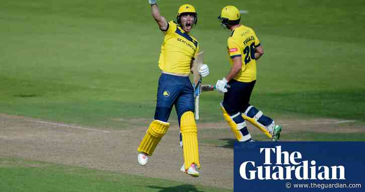 County cricket: Hampshire's double delight in Championship and Blast