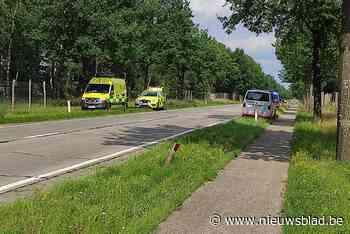 Breese motorrijder ernstig gewond bij ongeval in Hechtel