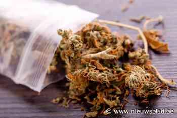 Man (22) betrapt met bijna 400 gram cannabis in auto