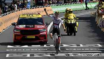 Tour de France : le Slovène Matej Mohoric vainqueur en solo à Libourne - France Bleu