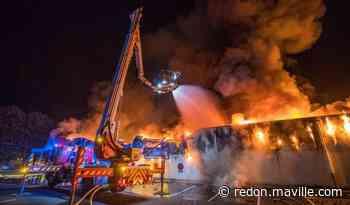 Normandie. Près de Rouen, un magasin Lidl détruit par un incendie - maville.com