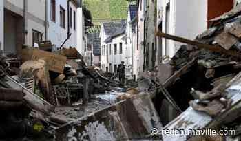 Inondations. Le bilan s'alourdit à 165 morts en Allemagne - maville.com