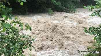 Oberstdorf: Verstopfung durch aufgestautes Holz aufgelöst - BR24