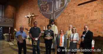 Katholische Kirche in Aldingen ist heller denn je - Schwäbische