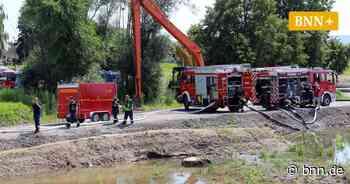 Schaden am Schöpfwerk Rheinstraße in Elchesheim-Illingen - BNN - Badische Neueste Nachrichten