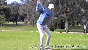 Around the Parkes sports grounds: Golfers brave the weather - Parkes Champion-Post