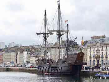 Le Galeon Andalucia attendu dans le port de Cherbourg cette semaine - actu.fr