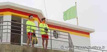 Cherbourg-en-Cotentin. Ils veillent sur la plage tout l'été - la Manche Libre