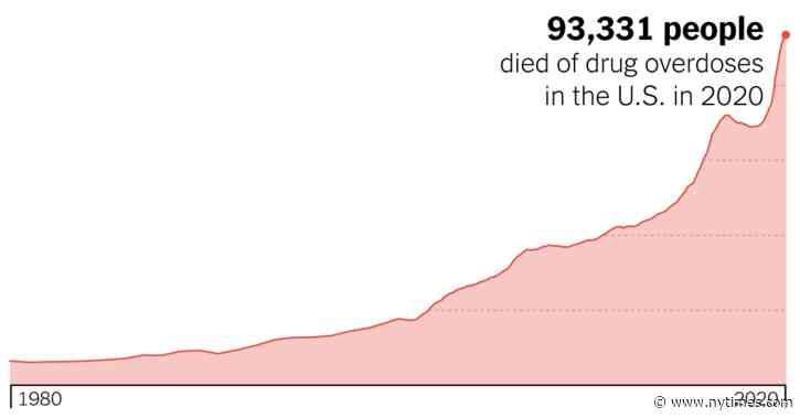 'It's Huge, It's Historic, It's Unheard of': Drug Overdose Deaths Spike