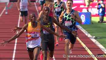 U.S. Trials: Hillary Bor defends steeplechase title, qualifies for Tokyo - NBC Sports