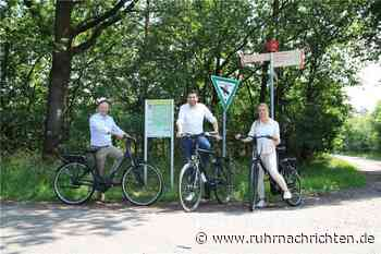 Radeln nach Zahlen: Auch Raesfeld hat jetzt zwei rot-weiße Knotenpunkte - Ruhr Nachrichten
