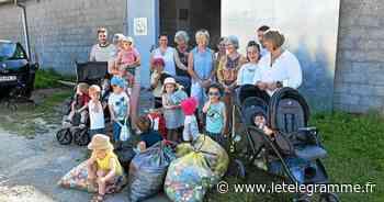 25 kg de bouchons récoltés à Concarneau par « Pas à pas avec nounou » - Le Télégramme