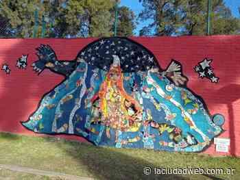Morón: se estrenó un nuevo mural en una de las paredes de la Mansión Seré - Diario La Ciudad - Diario La Ciudad Ituzaingó