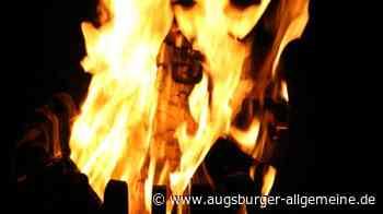 Drei Personen durch eine Stichflamme auf einer Gartenparty verletzt - Augsburger Allgemeine