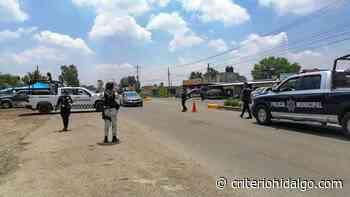 Asaltantes usan uniforme de Policía Federal para robar autos en Tepeji - Criterio Hidalgo