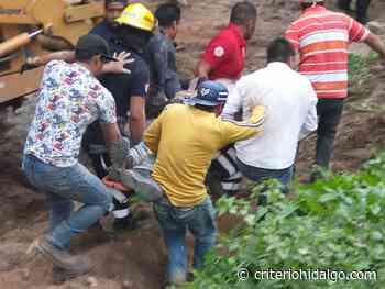 Muere una persona tras un derrumbe en Tepeji del Río - Criterio Hidalgo