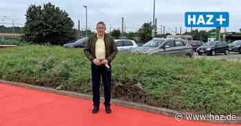 Seelze: Roter Streifen soll für mehr Sicherheit auf Parkplatz sorgen - Hannoversche Allgemeine