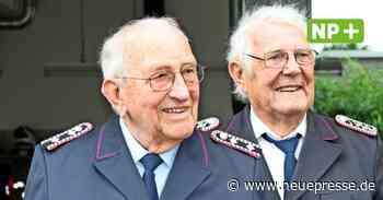 Seelze: Gerhard Bicker und Friedrich Dralle aus Velber für 60 Jahre in der Feuerwehr geehrt - Neue Presse