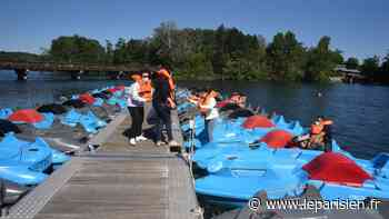 A l'île de loisirs de Cergy, le pass sanitaire débarque mercredi : «J'adhère totalement» - Le Parisien