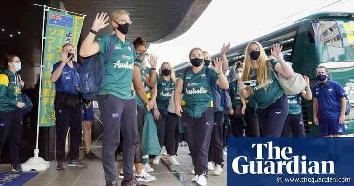 Australian softballers win local hearts before Japan Olympics opener   Kieran Pender