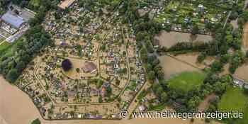 Beeindruckende Luftaufnahmen zeigen Hochwasser in Schwerte - Hellweger Anzeiger