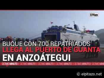 Buque con 700 repatriados llega al Puerto de Guanta en Anzoátegui - El Pitazo