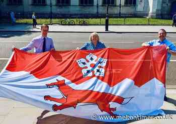 History is made as Leicestershire's first ever flag is flown - Melton Times