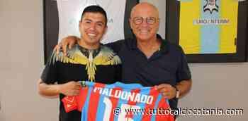 CURIOSITA': Maldonado dona la propria maglia al presidente dell'Arzignano - Tutto Calcio Catania