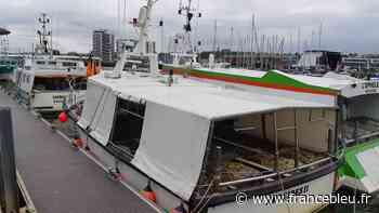 Boulogne-sur-mer : un pêcheur teste des filets biodégradables - France Bleu