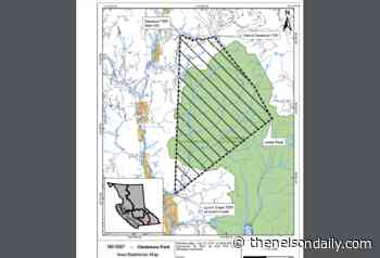 Area Restrictions in effect for Gladstone Creek Wildfire north of Christina Lake - The Nelson Daily