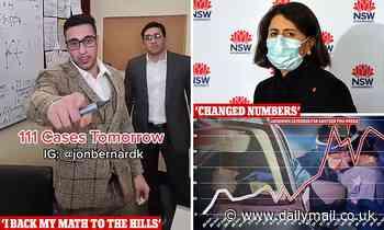 Covid-19 Australia: TikTok comedian claims Gladys Berejiklian CHANGED Sydney's numbers to expose him