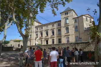 Visite guidé du Château Château samedi 18 septembre 2021 - Unidivers