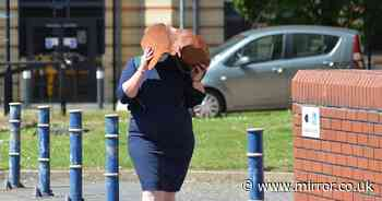 GP surgery manager who stole £184k from the NHS weeps as she's jailed for fraud