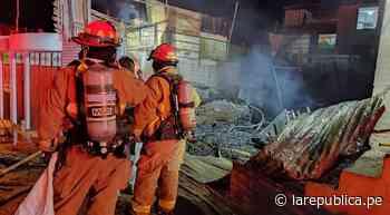 Moquegua: familia lo perdió todo en incendio ocurrido el sábado - LaRepública.pe