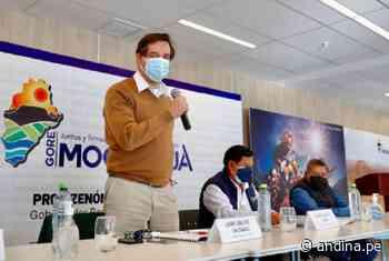 Moquegua: Minem encargará obras de mitigación para recuperar el río Coralaque - Agencia Andina
