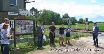Altes Stellwerk in Armsheim wieder für Besucher geöffnet