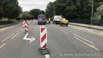Entre Lille et Lambersart, les travaux avancent bien sur les ponts - La Voix du Nord