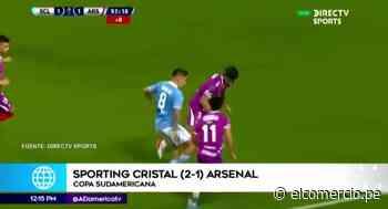 Sporting Cristal remonta en los últimos minutos al Arsenal en la Sudamericana - El Comercio Perú