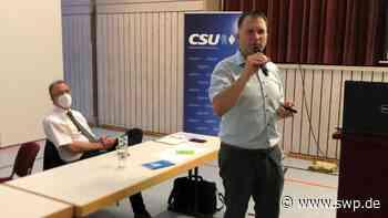 Bürgermeisterwahl in Bellenberg: CSU setzt auf parteilosen Oliver Schönfeld - SWP